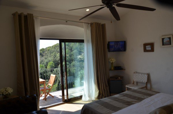 Double room with views and terrace.