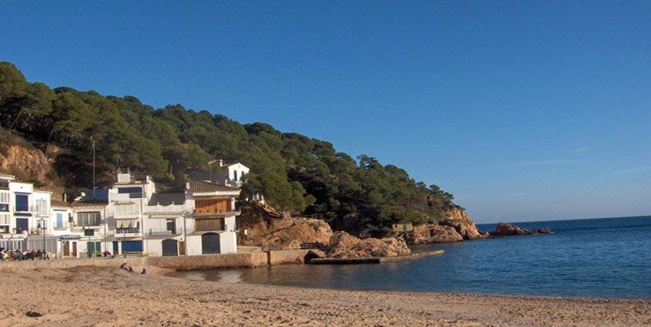 Villa en la playa de Tamariu.(4 habs.)