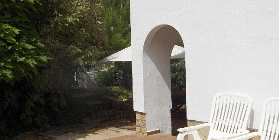 Villa in Strand von Tamariu